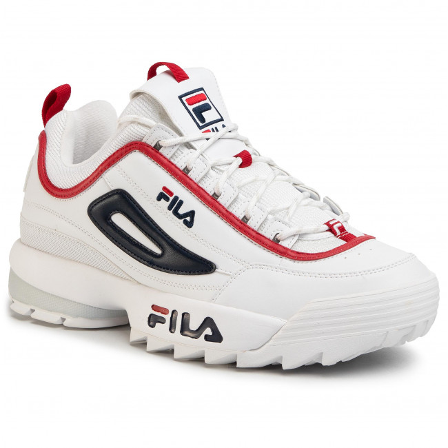 Sneakersy FILA Disruptor Cb Low 1010707.92N WhiteFila