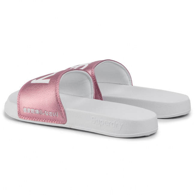 Klapki SUPERDRY Colour Change Pool Slide WF300002A Optic