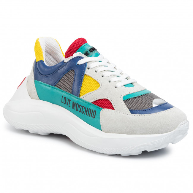 Sneakersy LOVE MOSCHINO JA15306G1AIQ840A Mix Multicolor