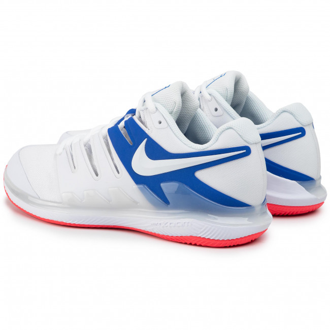 Buty NIKE Air Zoom Vapor X Cly AA8021 103 WhiteWhite Game Royal