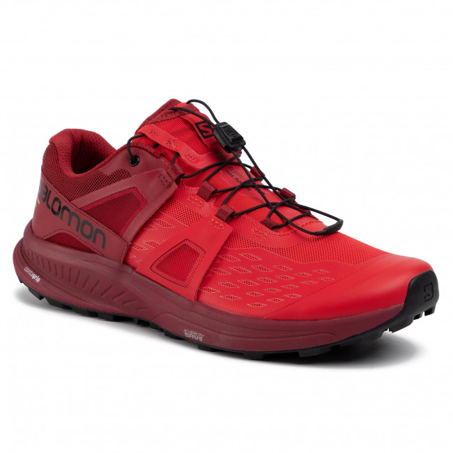 Buty SALOMON UltraPro 407904 29 V0 High Risk RedRed DahliaBlack