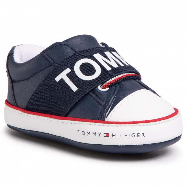 Sneakersy TOMMY HILFIGER - Lace Up T0B4-30683-0908800 Blue 800