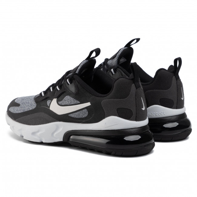 Buty NIKE Air Max 270 React (Gs) BQ0103 003 BlackVast GreyOff NoirWhite
