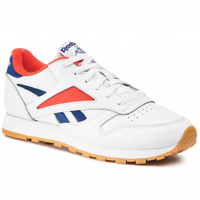 Buty Reebok - Cl Leather Mark EF7846  White/Redred/Conavy