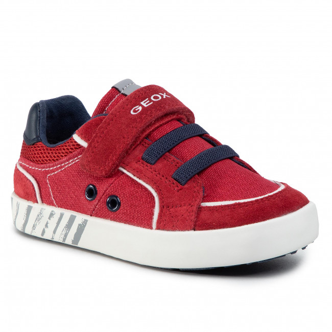 Sneakersy GEOX - B Kilwi B. B B02A7B 0NB22 C7MF4 S Dk Red/Navy