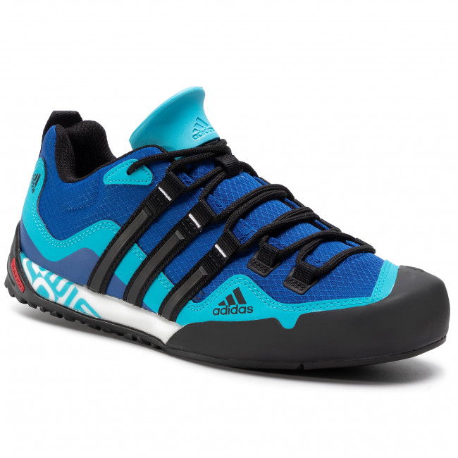 Buty adidas - Terrex Swift Solo FX9324 Team Royal Blue/Core Black/Signal Cyan