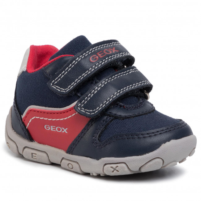Sneakersy GEOX - B Balu' B. A B0236A 01050 C0735 Navy/Red