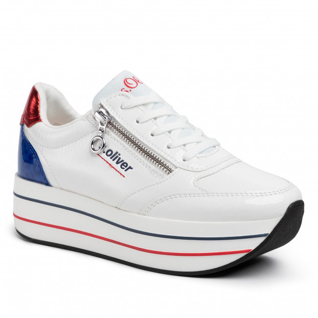 Sneakersy S.OLIVER - 5-23641-34 White Comb. 110
