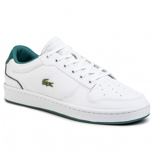 Sneakersy LACOSTE - Masters Cup 120 2 Sma 7-39SMA0065082 Wht/Grn