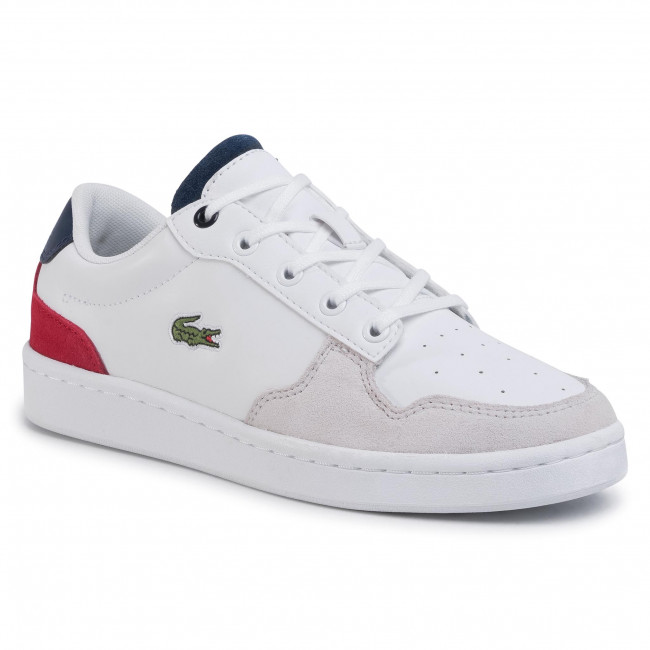 Sneakersy LACOSTE - Masters Cup 120 2 Suj 7-39SUJ0010407  Wht/Nvy/Red