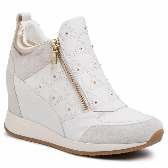Sneakersy GEOX - D Nydame D D020QD 08522 C1352 White/Off White