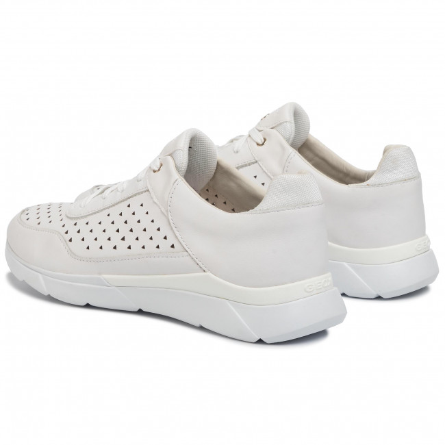 Sneakersy GEOX D Hiver B D02FHB 08554 C1000 White