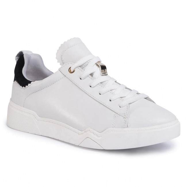 Sneakersy TAMARIS - 1-23793-34 Wht/Blk/Gold 265