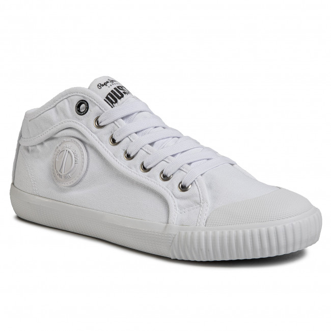 Trampki PEPE JEANS Industry Classic PMS30628 White 800