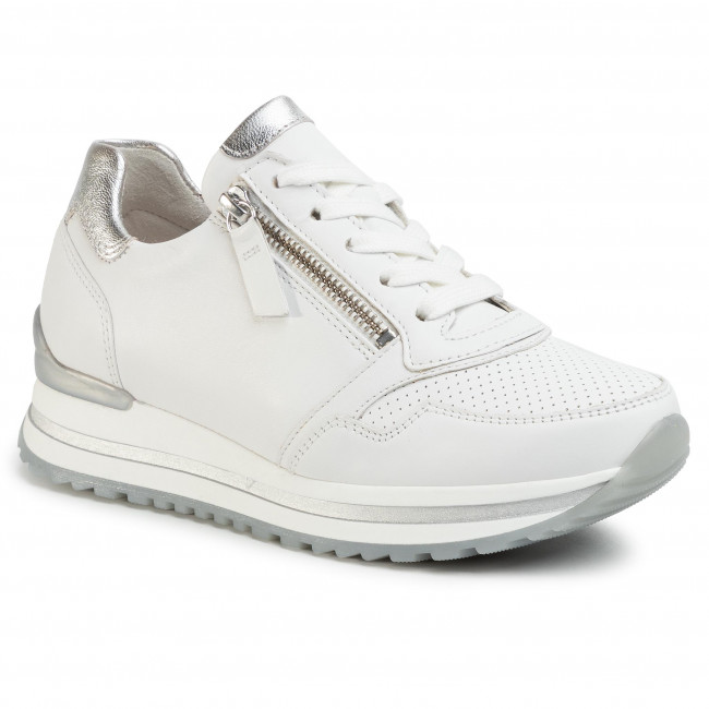Sneakersy GABOR - 46.528.50 Weiss/Silber