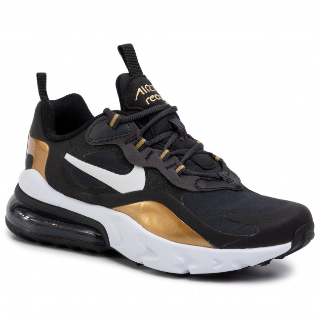 Buty NIKE Air Max 270 React (GS) BQ0103 005 AnthraciteWhiteBlack
