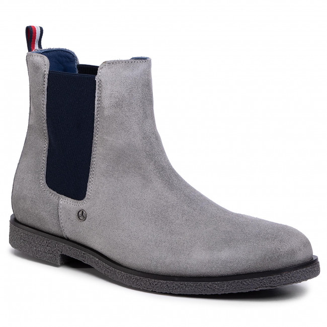 Sztyblety TOMMY HILFIGER - MB Chelsea Boot 1B FM0FM02815 Griffin PCO