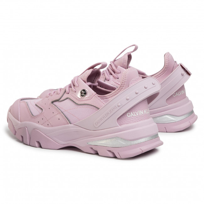 Sneakersy CALVIN KLEIN JEANS Clarice B4R0883 Peony