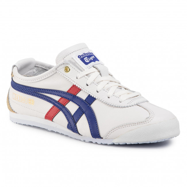 Sneakersy ONITSUKA TIGER - Mexico 66 D507L White/Dark Blue 0152