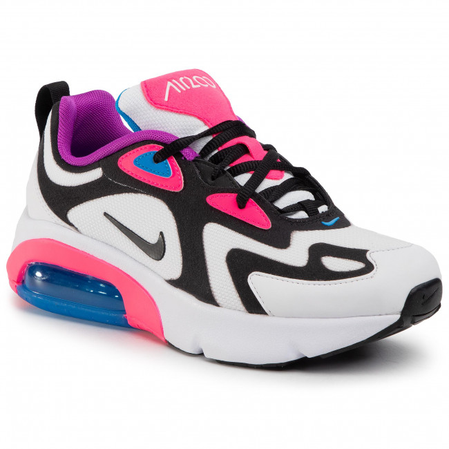 Buty NIKE Air Max 200 (GS) AT5630 100 WhiteBlack Hyper Pink
