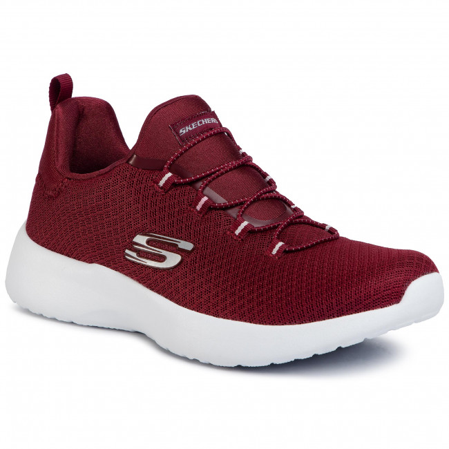Buty SKECHERS - Dynamight 12119/BURG Burgundy