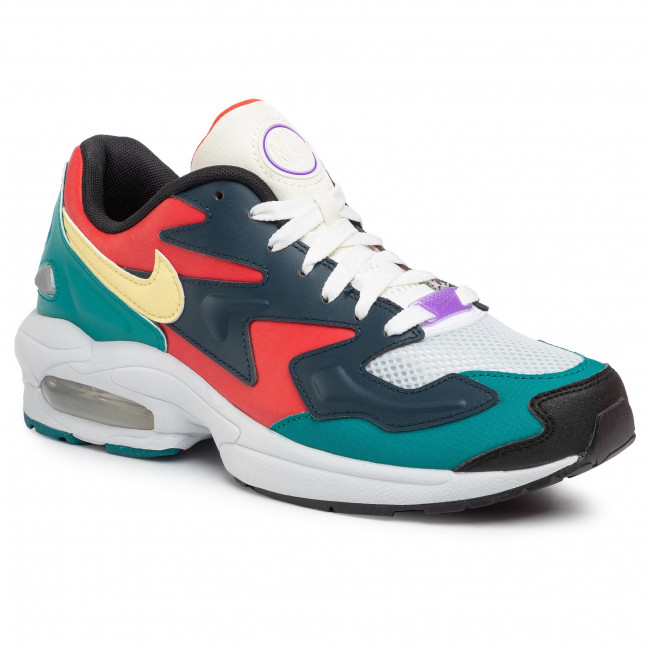 Buty NIKE - Air Max2 Light Sp BV1359 600 Habanero Red/Armory Navy