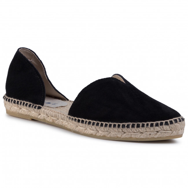 Espadryle MANEBI - Open Side Flats K 1.0 O0 Black