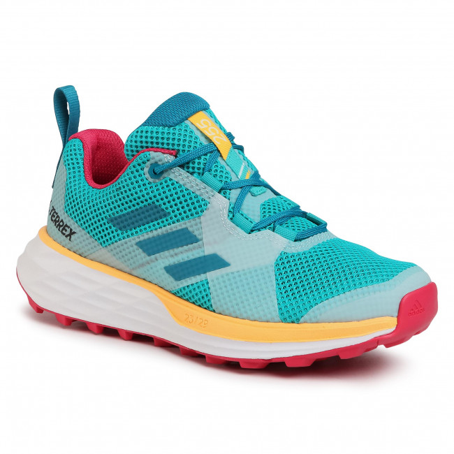 Buty adidas - Terrex Two W FV7354  Turquoise/Active Teal/Solar Gold
