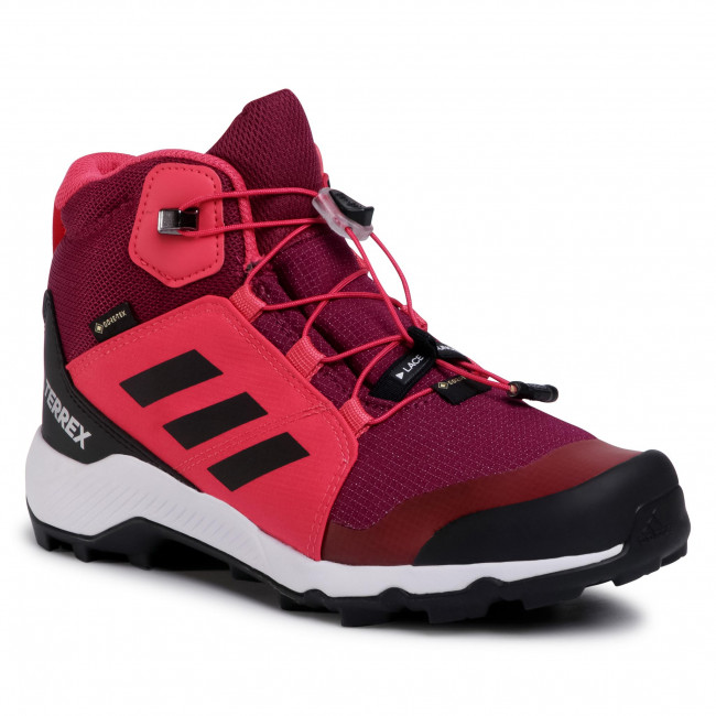 Buty adidas - Terrex Mid Gtx K GORE-TEX FW9758  Power Berry/Core Black/Power Pink