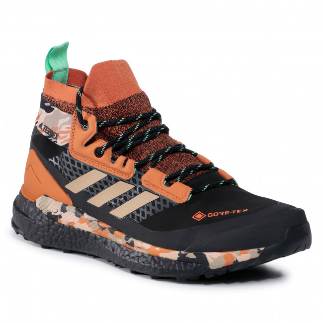 Buty adidas - Terrex Free Hiker Gtx GORE-TEX FV6791 Core Black/Hemp/Glory Mint