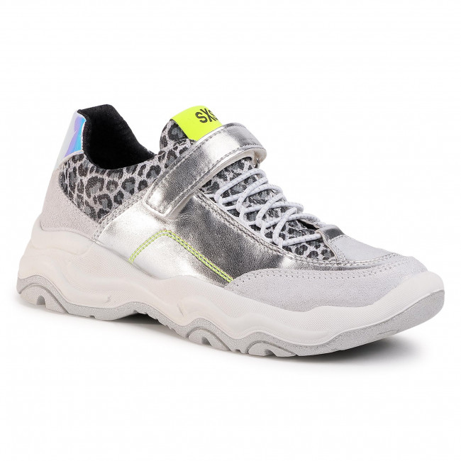 Sneakersy IMAC - 530611 S Silver/Yellow 00220/010