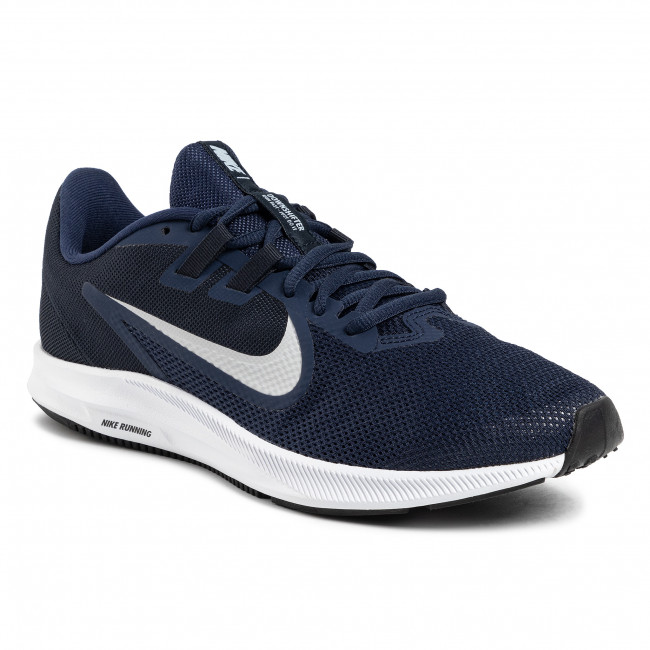 Buty NIKE - Downshifter 9 AQ7481 401 Midnight Navy/Pure Platinum