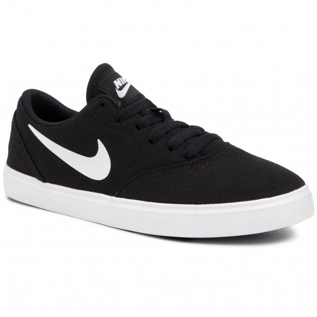 Buty NIKE - Sb Check Cnvs (GS) 905373 003 Black/White