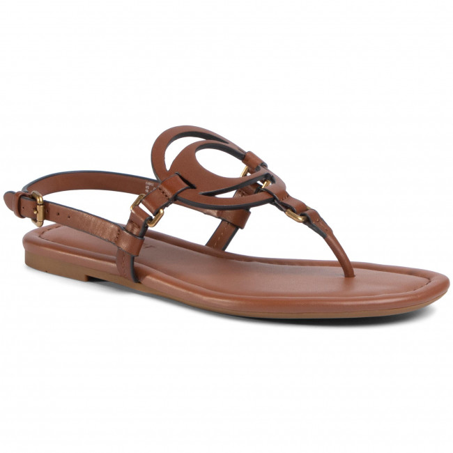 Sandały COACH - Jeri Leather Sandal G4910 110002650 Saddle