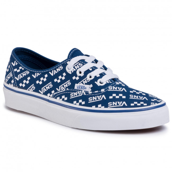 Tenisówki VANS - Authentic VN0A2Z5IWH82  (Logo Repeat) Tr Bl/Tr Wht