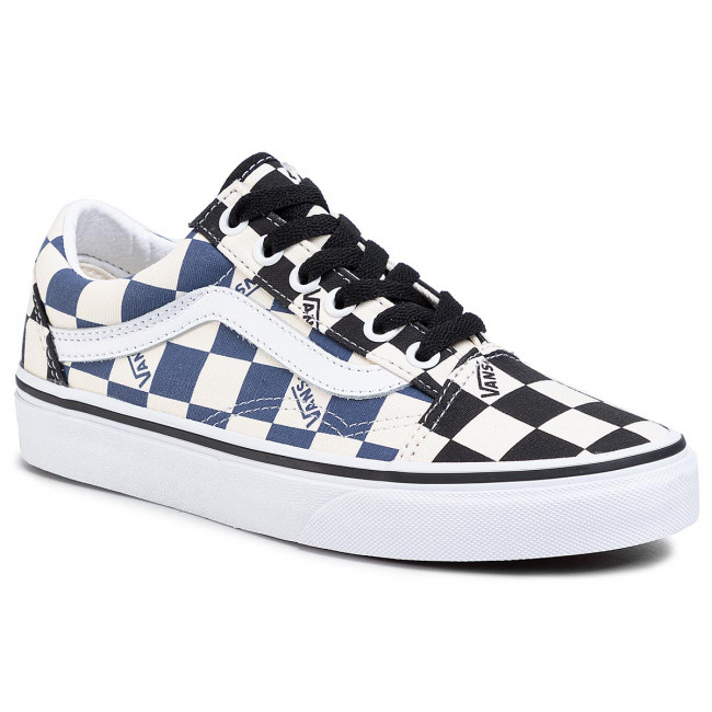 Tenisówki VANS - Old Skool VN0A4U3BWRT1 (Big Check) Black/Navy
