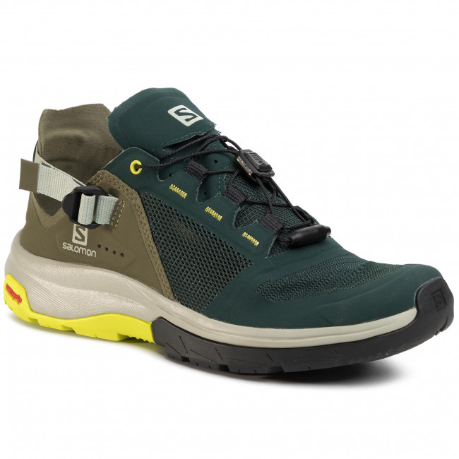 Trekkingi SALOMON - Tech Amphib 4 409856 27 V0  Green Gables/Burnt Olive/Evening Primrose