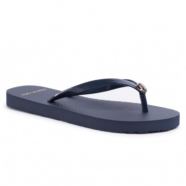 Japonki TORY BURCH - Solid Thin Flip Flop 47405 Perfect Navy 430