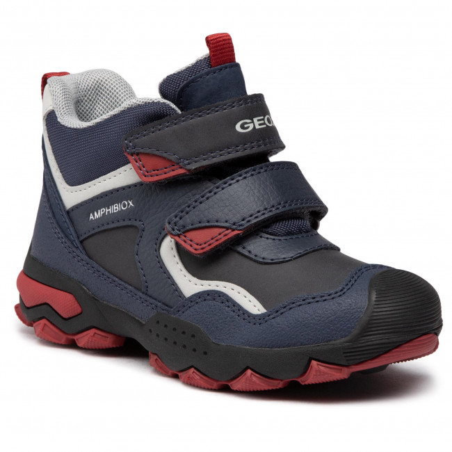 Trzewiki GEOX - J Buller B.B Abx B J049WB 0ME50 C4244 S  Navy/Dk Red