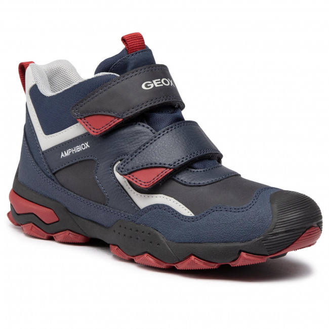 Trzewiki GEOX - J Buller B.B Abx B J049WB 0ME50 C4244 D Navy/Dk Red