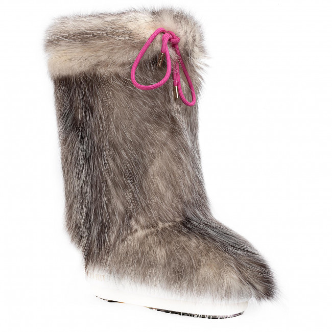 Ocieplacz na obuwie MOON BOOT - Cover Opossum 140C0V01001 Natural