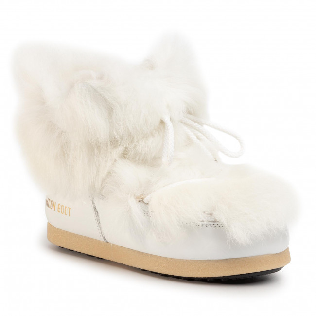 Śniegowce MOON BOOT - Mb Far Side 50 Low Shearling 24201800001 White