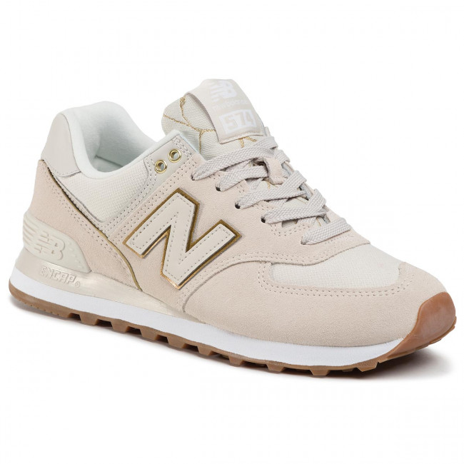Sneakersy NEW BALANCE - WL574SOA Beżowy