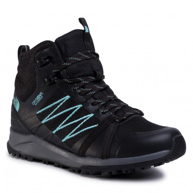 Trekkingi THE NORTH FACE - Litewave Fastpack II Mid Wp NF0A47HFU3B Tnf Black/WAqua Splash