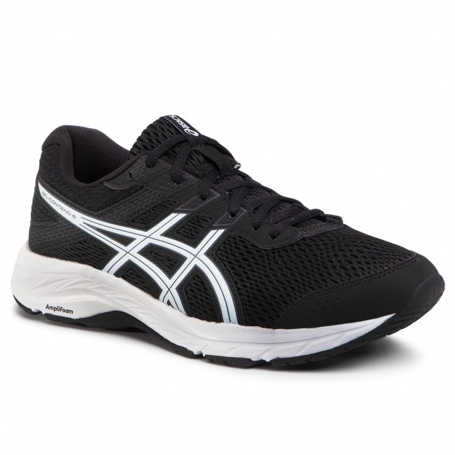 Buty ASICS - Gel-Contend 6 1011A667 Black/White 003