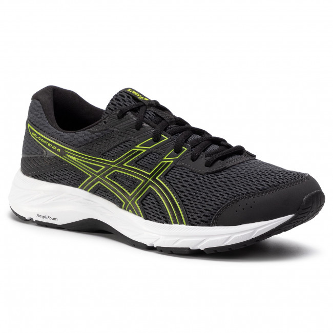 Buty ASICS - Gel-Contend 6 1011A667 Graphite Grey/Lime Zest 022