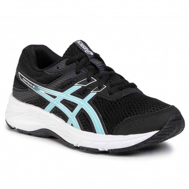Buty ASICS - Contend 6 Gs 1014A086 Black/Ocean Decay 003
