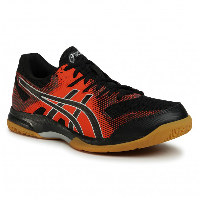 Buty ASICS - Gel-Rocket 9 1071A030  Black/Fiery Red 003
