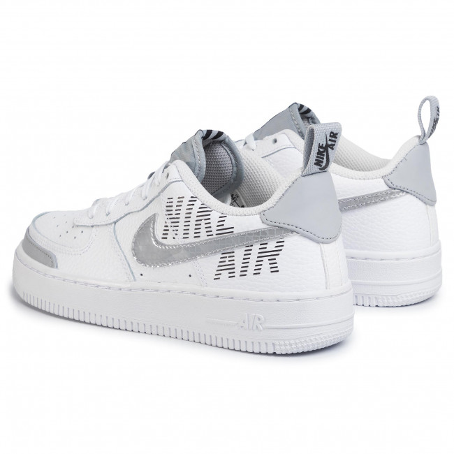 Buty NIKE Air Force 1 LV8 2 (GS) BQ5484 100 WhiteWolf