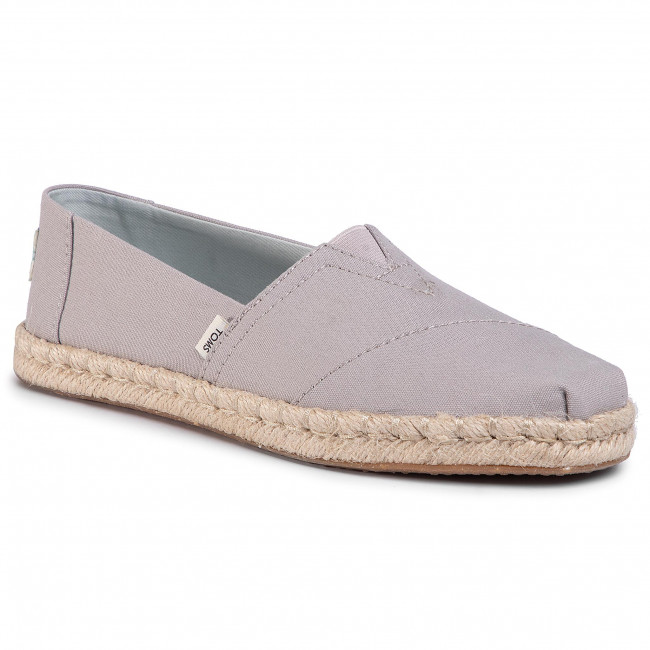 Espadryle TOMS - Classic 10015076 Plant Dyed Grey